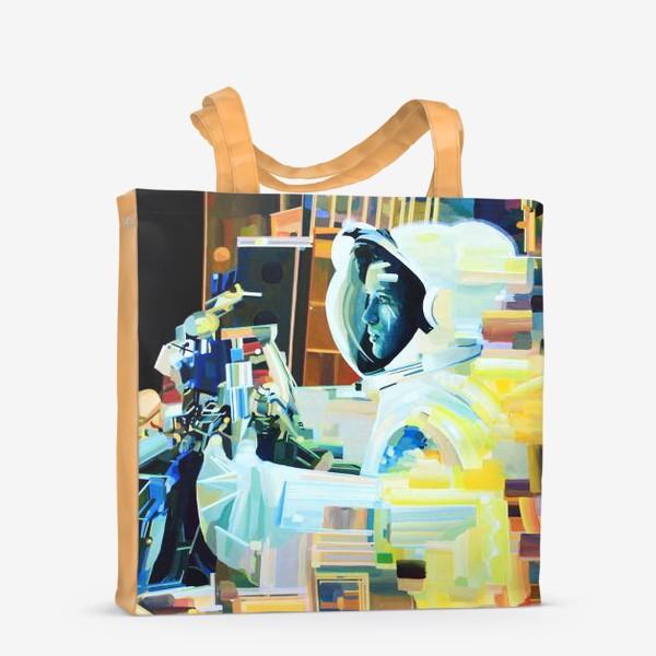 Сумка-шоппер «Освоение космоса, лист №1»