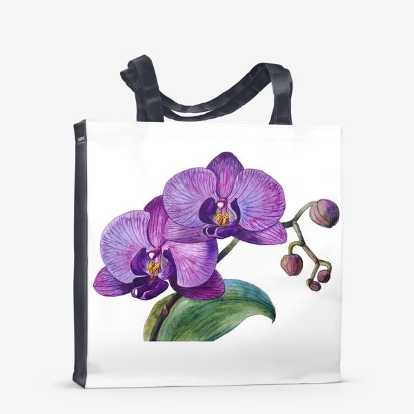 Сумка-шоппер «Орхидея»