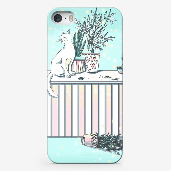 Чехол iPhone «МАРТОВСКИЙ КОТ»