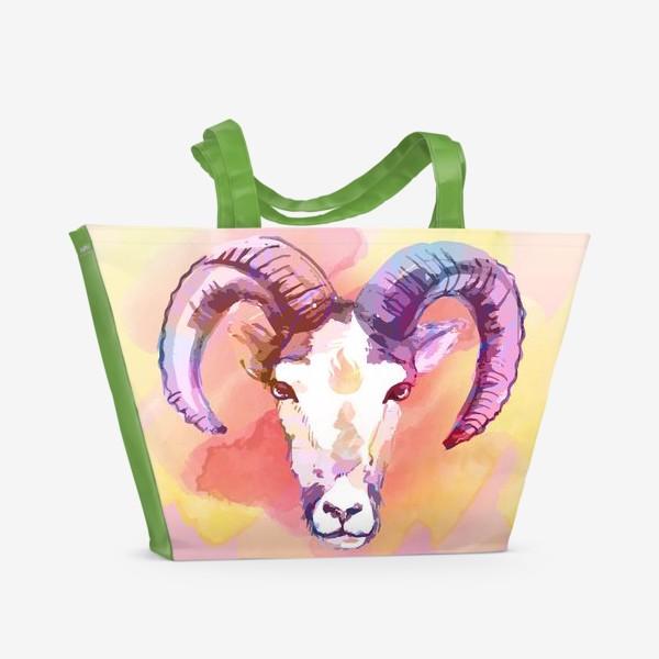 Пляжная сумка «Огненный Овен»