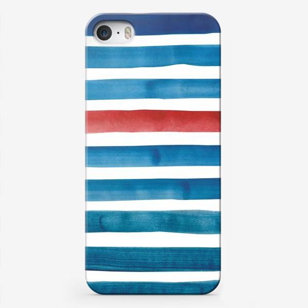 Чехол iPhone «Морские полоски»