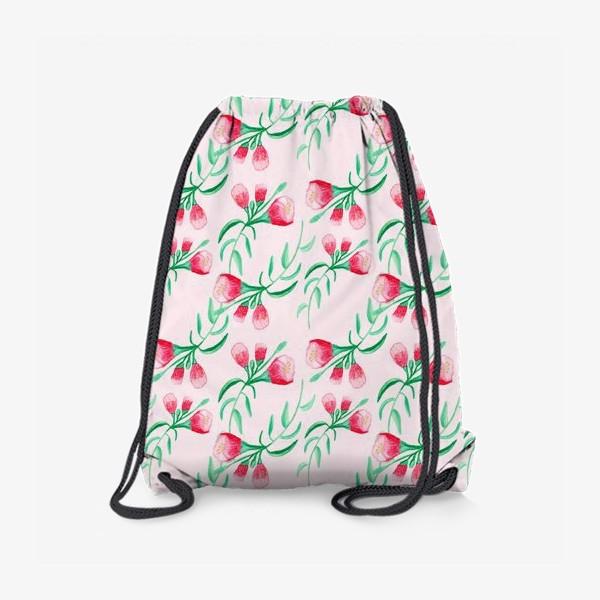 Рюкзак «Акварельный цветок»