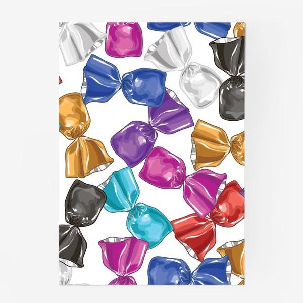 Постер «Разноцветные конфеты»