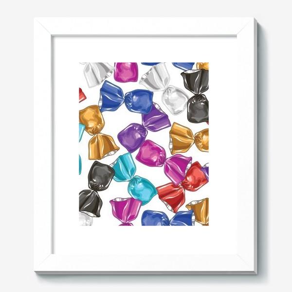Картина «Разноцветные конфеты»