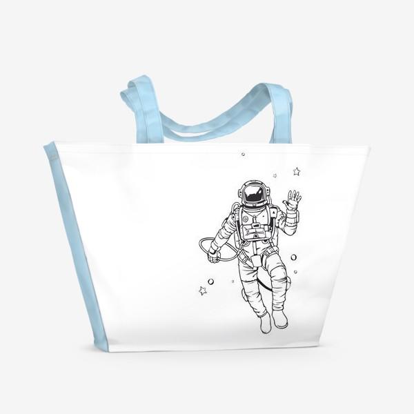Пляжная сумка «небо передает привет»
