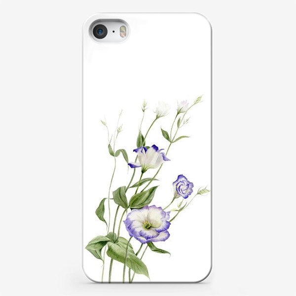 Чехол iPhone «Букет эустомы»