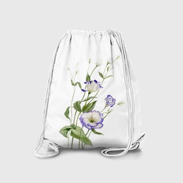 Рюкзак «Букет эустомы»
