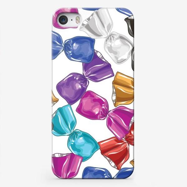 Чехол iPhone «Разноцветные конфеты»