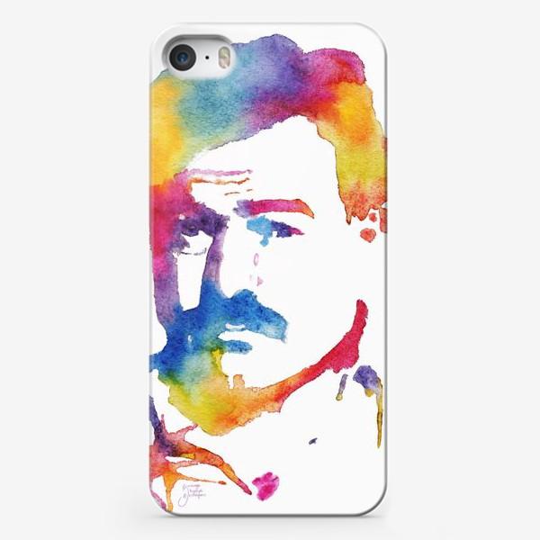 Чехол iPhone «Хэмингуэй. Акварельный портрет. Hemingway Watercolor Watercolour»