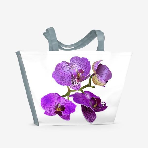 Пляжная сумка «Bush Pink Orchid»