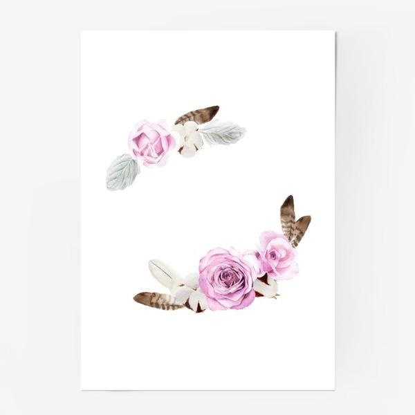 Постер «В стиле бохо»