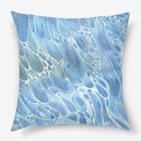 Подушка «Водная гладь»