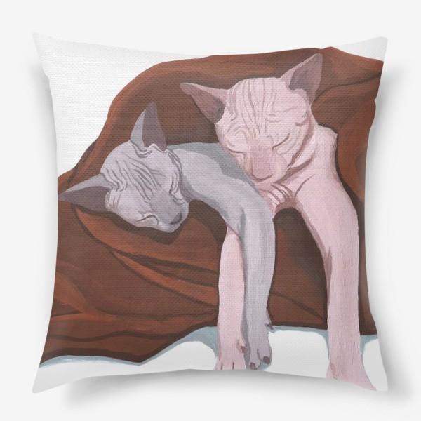 Подушка «Сфинксы»