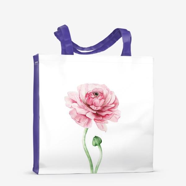 Сумка-шоппер «Розовый ранункулюс »