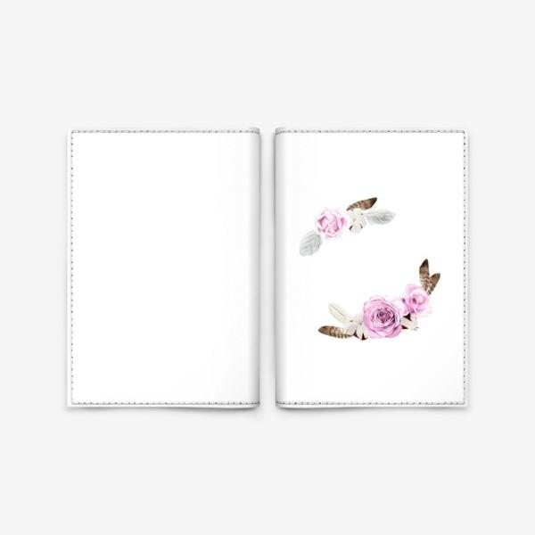 Обложка для паспорта «В стиле бохо»