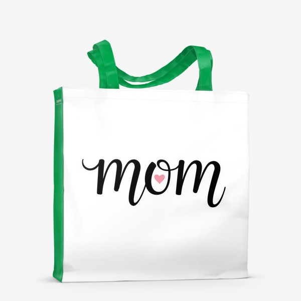 Сумка-шоппер «Mom (Мам с сердечком внутри)»