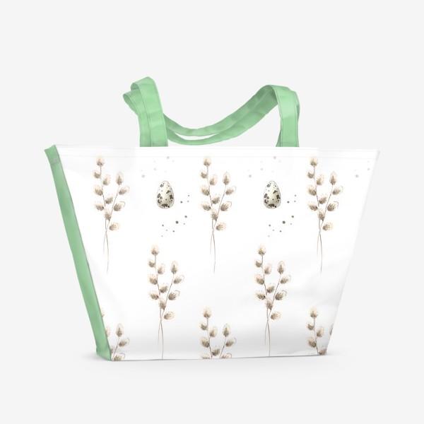 Пляжная сумка «Вербное воскресенье»
