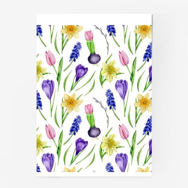 Постер «Весенние цветы»