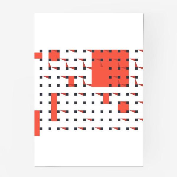 Постер «плетеный паттерн»