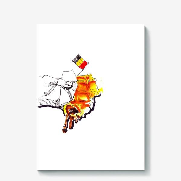 Холст «бельгийская вафля»