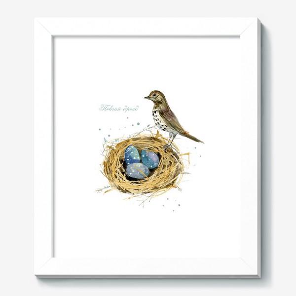Картина «Певчий дрозд»