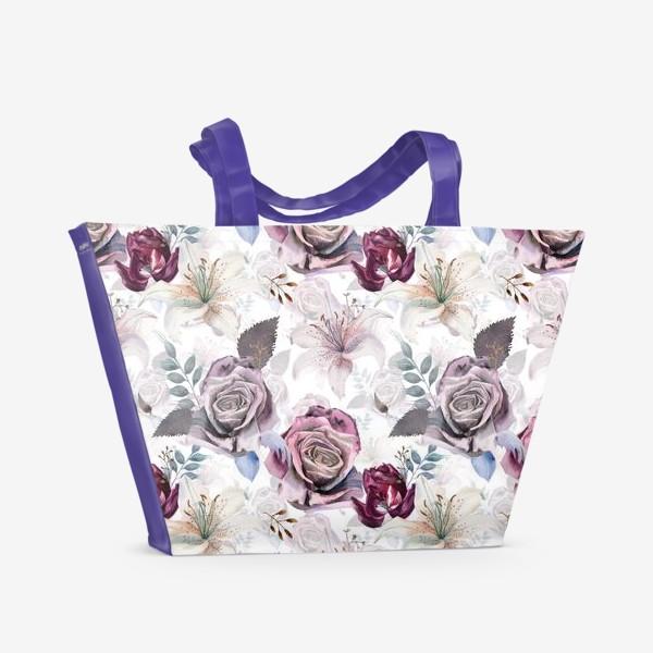 Пляжная сумка «The morning garden»