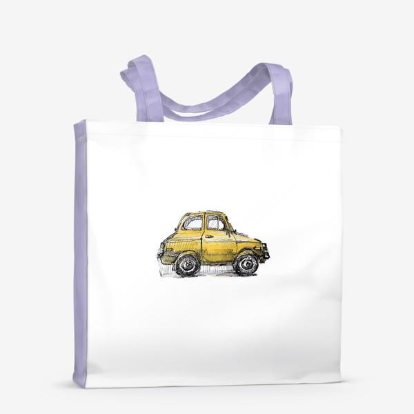 Сумка-шоппер «желтая машина»