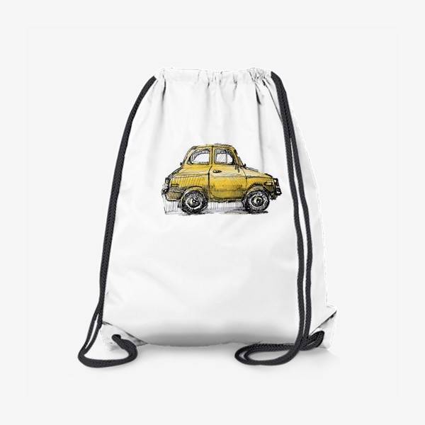 Рюкзак «желтая машина»