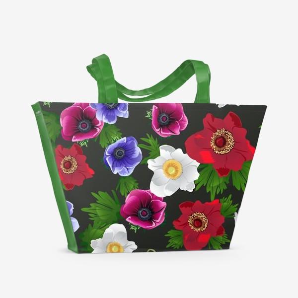 Пляжная сумка «Анемоны»