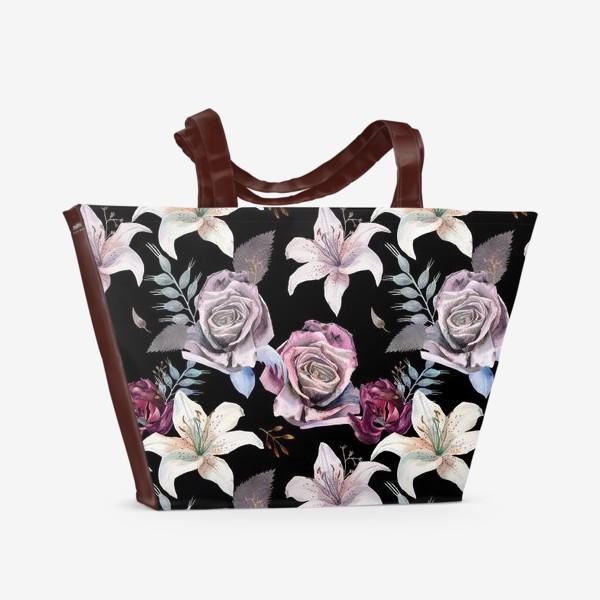 Пляжная сумка «Night Garden»