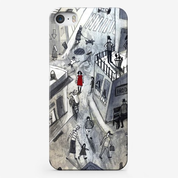 Чехол iPhone «В городе»