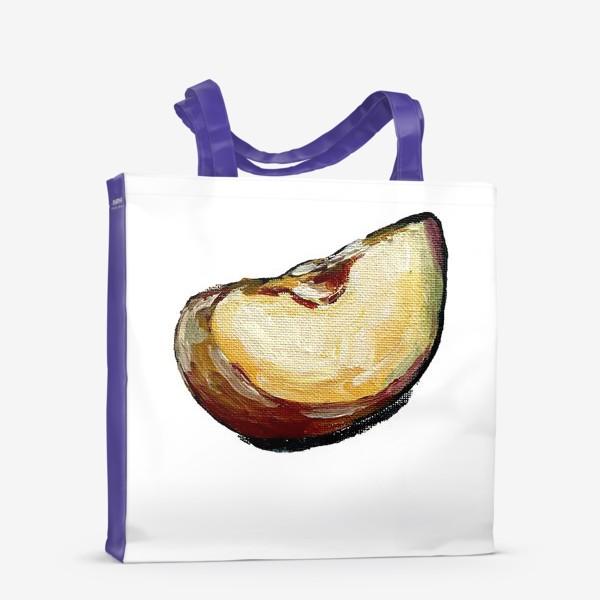 Сумка-шоппер «яблочная долька»