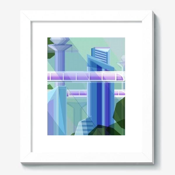 Картина «Летний город»