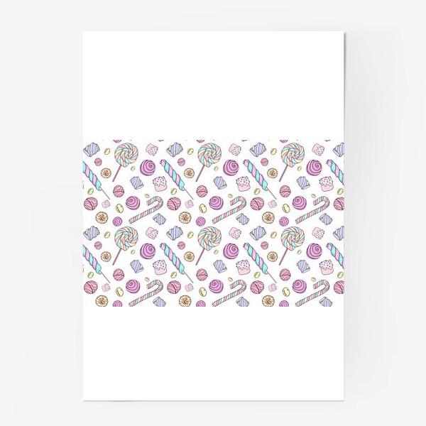 Постер «Радужные сладости»