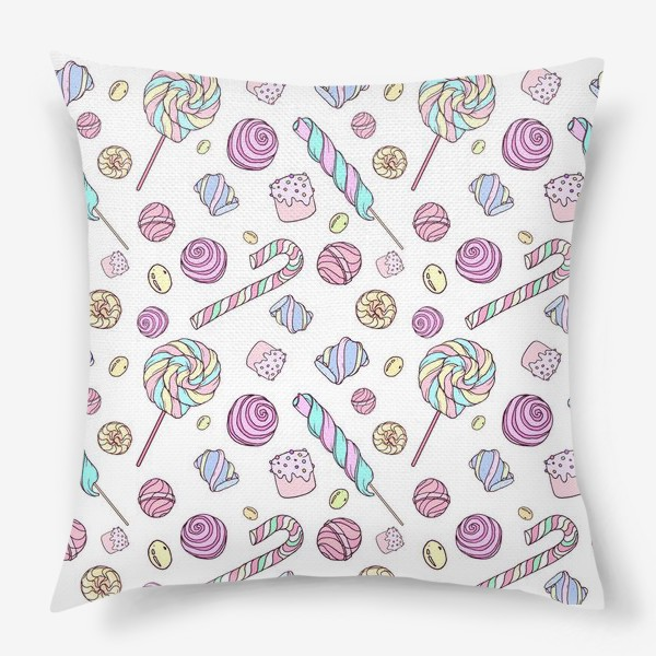 Подушка «Радужные сладости»