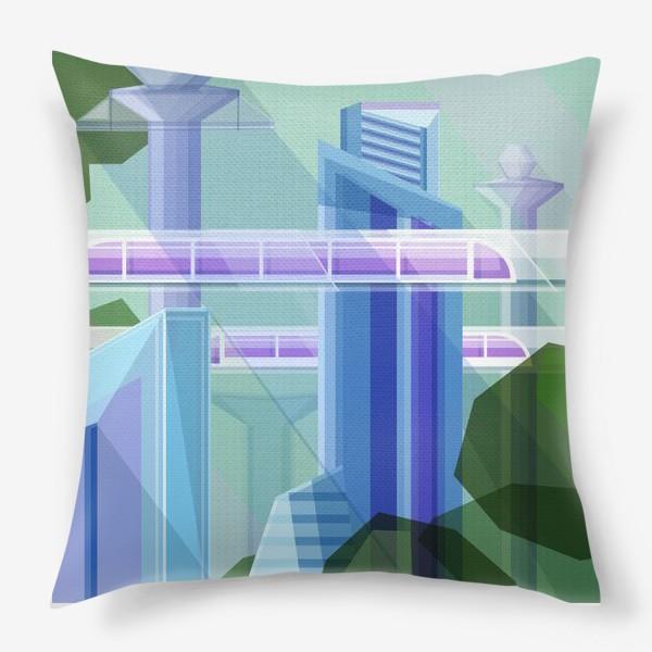Подушка «Летний город»