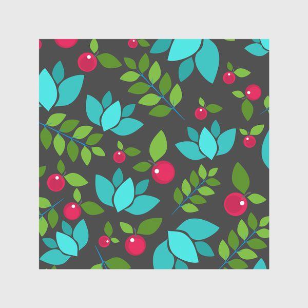 Скатерть «Цветочно-ягодный узор»