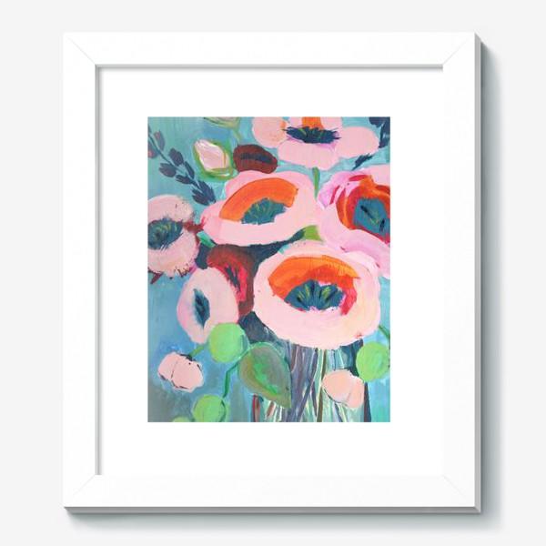 Картина «Живописные цветы. Анемоны»