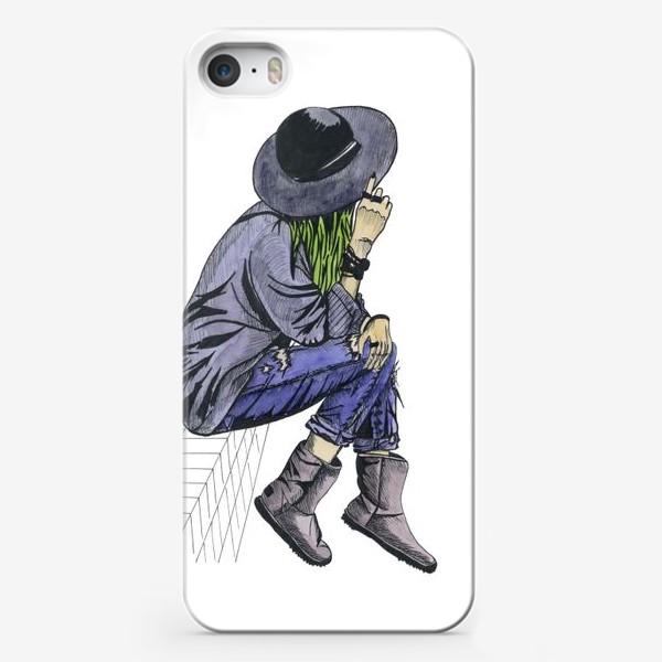 Чехол iPhone «Девушка в шляпе»