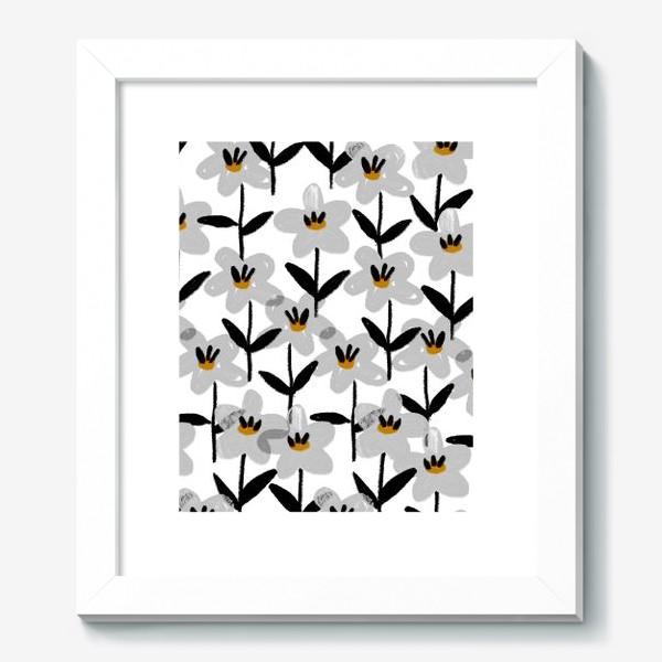 Картина «Flower pattern I»