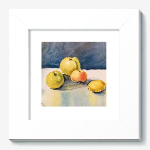 Картина «яблоки и лимоны»