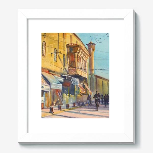 Картина «Солнечная улица»