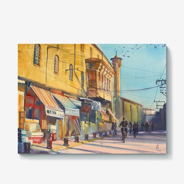 Холст «Солнечная улица»