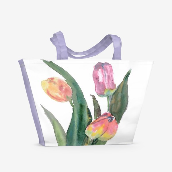 Пляжная сумка «tulip»