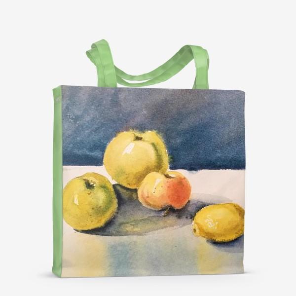 Сумка-шоппер «яблоки и лимоны»