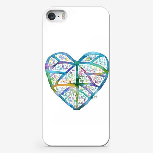 Чехол iPhone «Сердце природы»