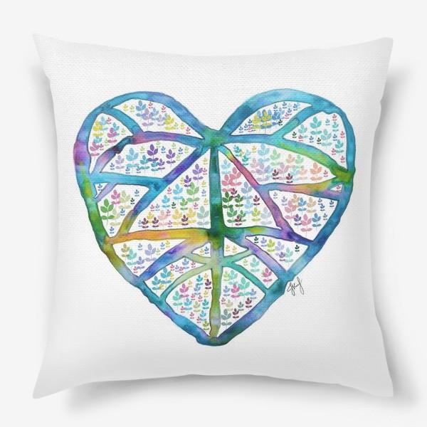 Подушка «Сердце природы»