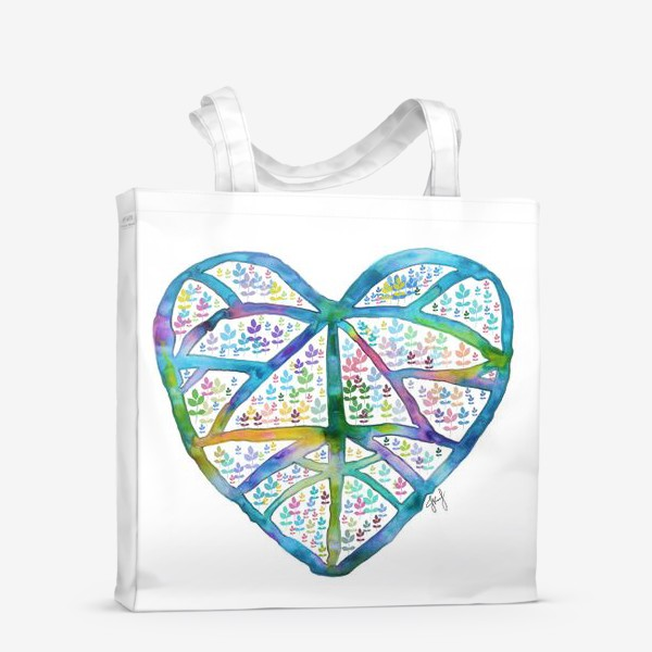 Сумка-шоппер «Сердце природы»