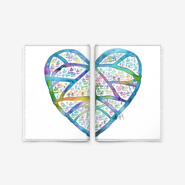 Обложка для паспорта «Сердце природы»