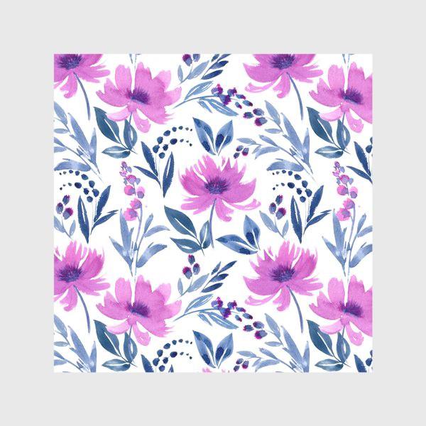 Скатерть «Акварельные цветы»